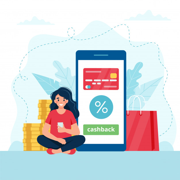 cashback-concept-woman-with-smartphone-smartphone-with-credit-card-it_113065-630
